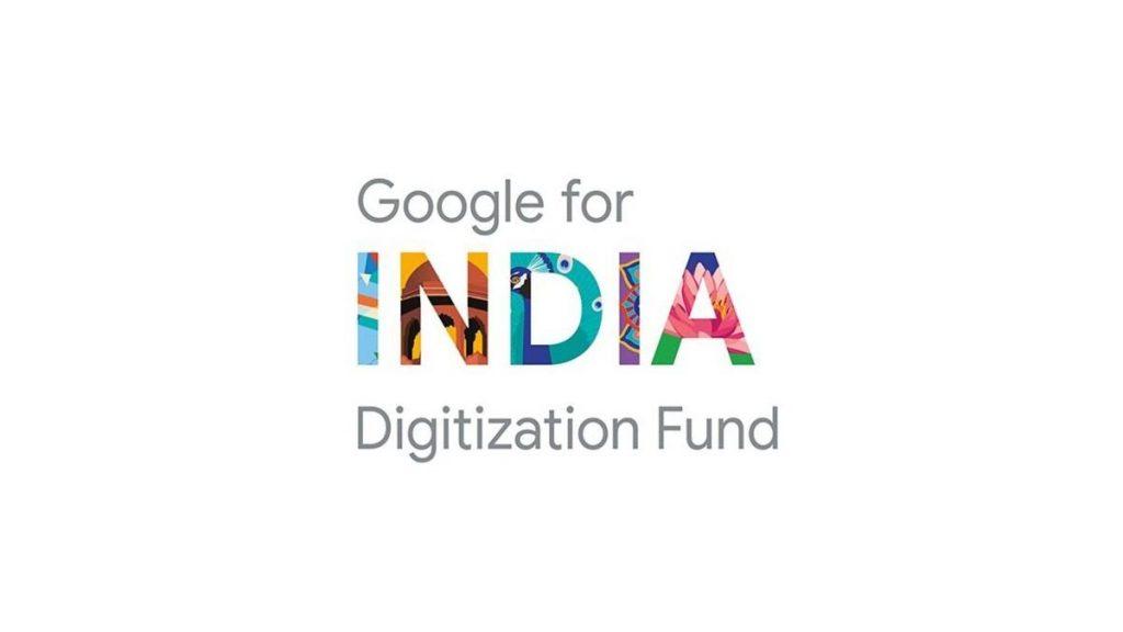 google for India digitisation fund